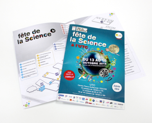 Brochure fête de la science